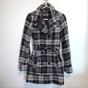 SAY WHAT? Winter Trench coat Size S